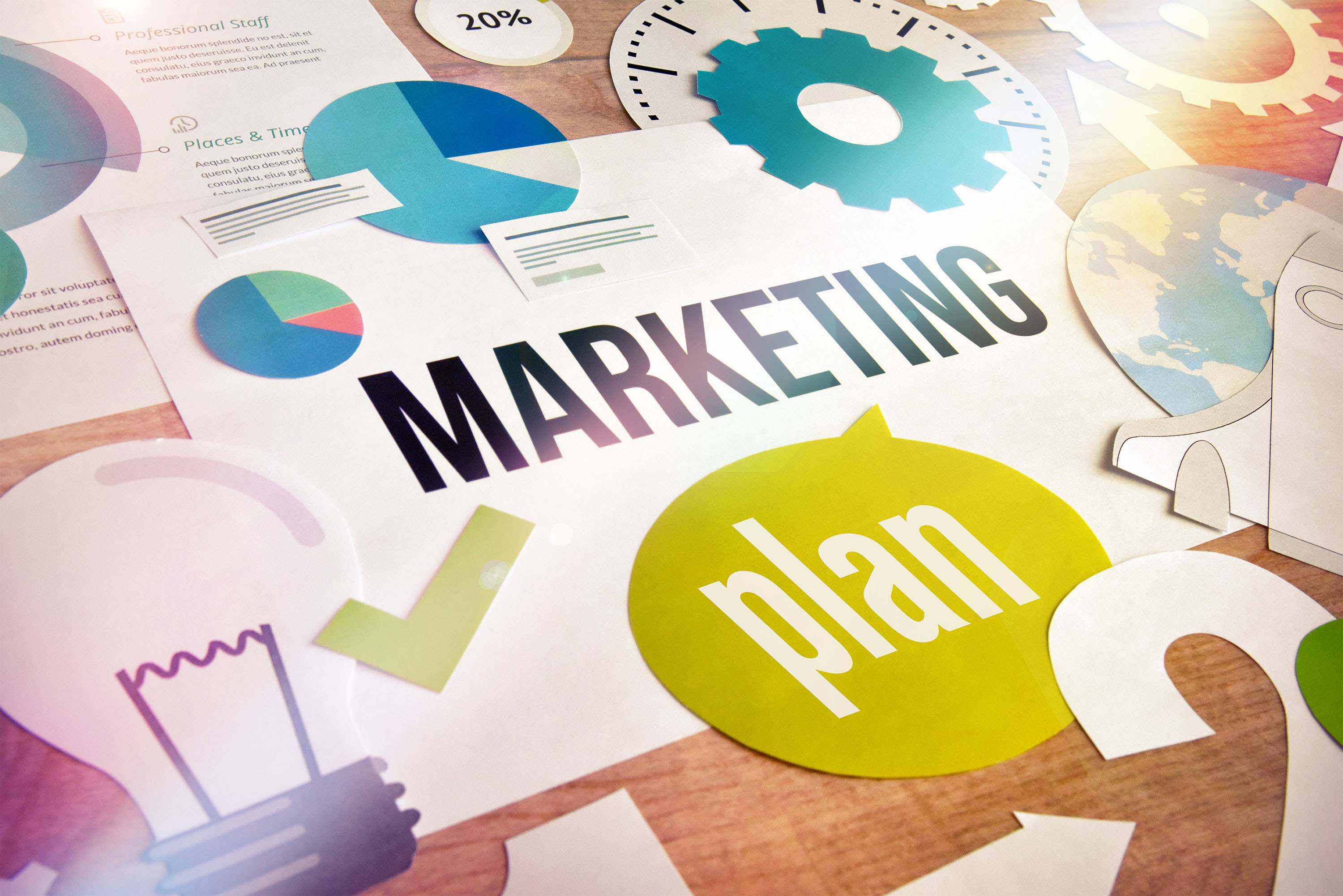 By Creating a Platform for Marketing
